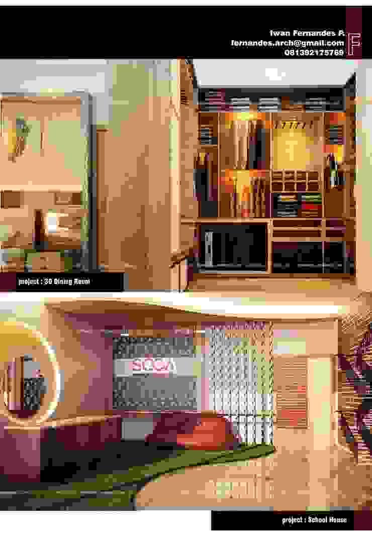 Fernandes Arch Ruang Ganti Modern Oleh fernandes.arch Modern