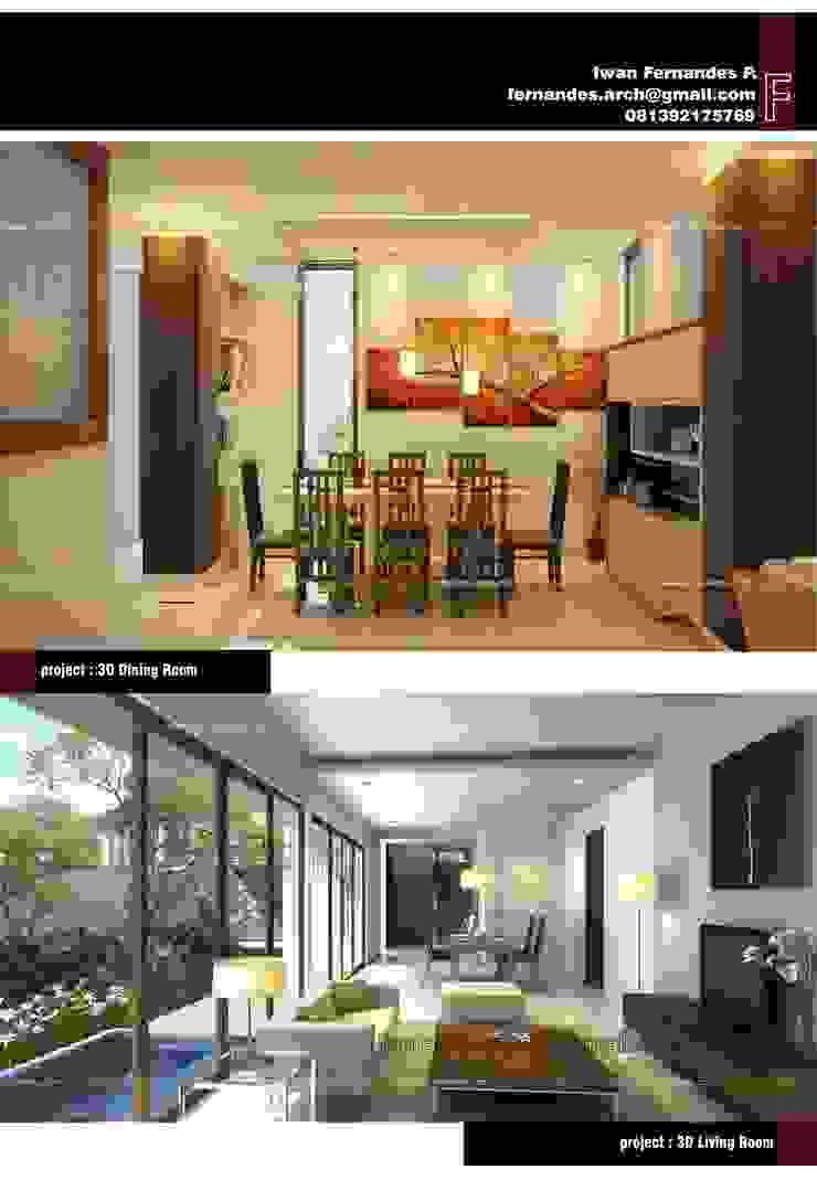 Fernandes Arch Ruang Makan Modern Oleh fernandes.arch Modern