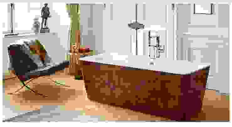 Modern bathroom by higloss-design.de - Ihr Küchenhersteller Modern Wood Wood effect