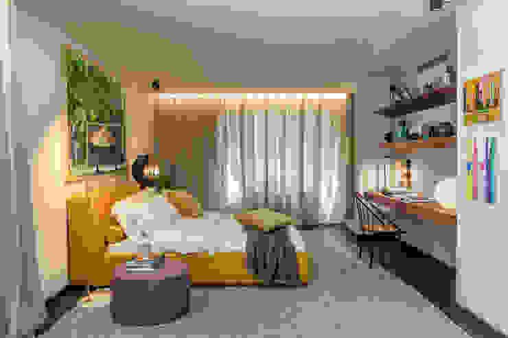 Gisele Taranto Arquitetura Modern style bedroom