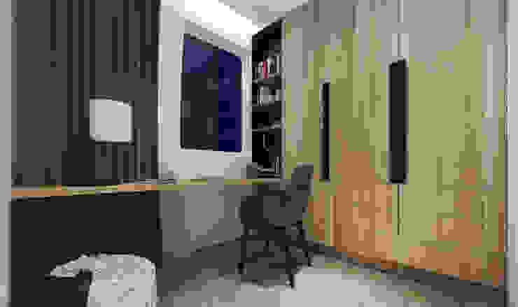 Ruang kerja Ruang Studi/Kantor Minimalis Oleh homify Minimalis