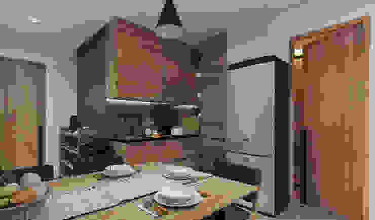 Dapur Oleh homify Minimalis