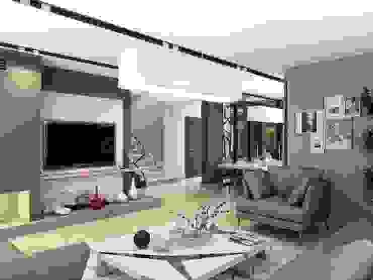 ANTE MİMARLIK  – Aksesuar seçimi:  tarz Oturma Odası, Modern