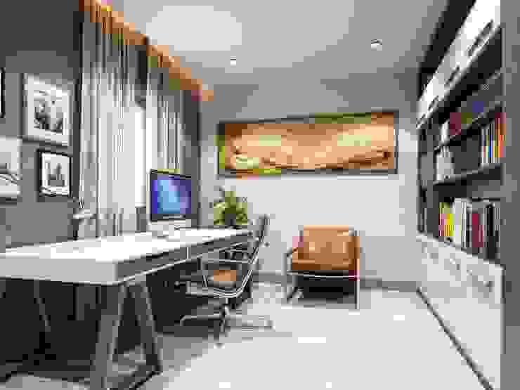 ANTE MİMARLIK  – Çalışma odası:  tarz Çalışma Odası, Modern