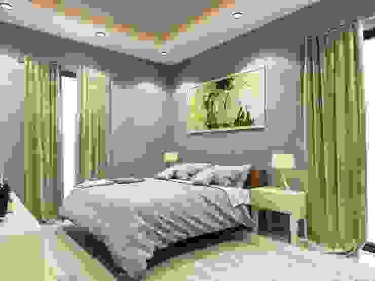 ANTE MİMARLIK  – Yatak odası :  tarz Yatak Odası, Modern
