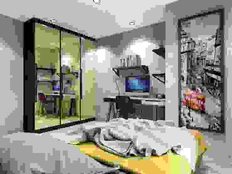 ANTE MİMARLIK  – Genç odası:  tarz Genç odası, Modern