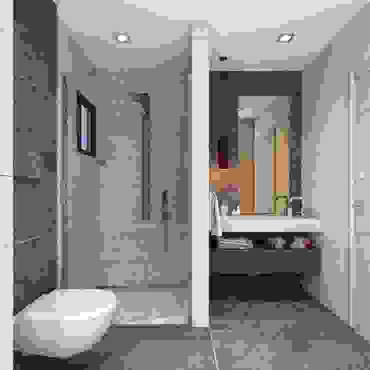 ANTE MİMARLIK  – Banyo tasarım:  tarz Banyo, Modern