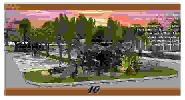 Landscape Urban Boulevard Oleh Cipta Kreasi Flora