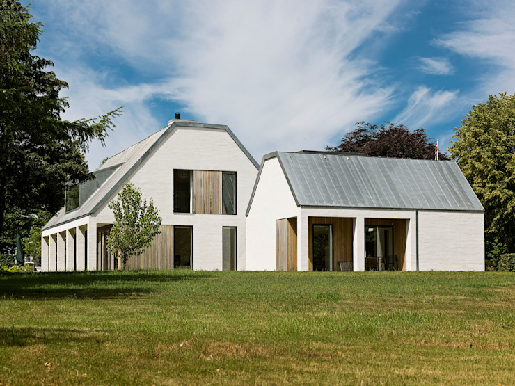 Villa in Zealand Scandinavian style houses by C.F. Møller Architects Scandinavian