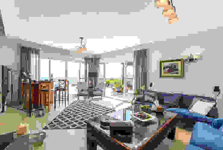 Salón Home & Haus | Home Staging & Fotografía Salones de estilo mediterráneo