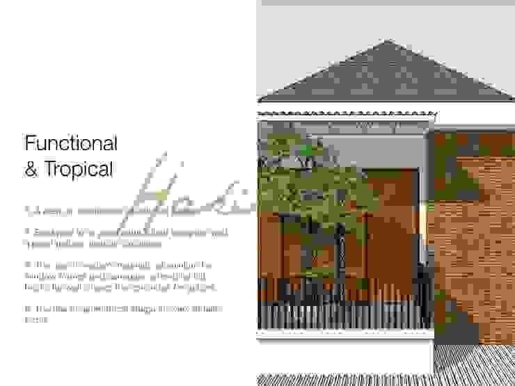 Balcon, Veranda & Terrasse modernes par Hakikiarch Architect Freelancer Moderne