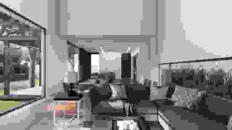 SALA Salones modernos de GRUPO VOLTA Moderno
