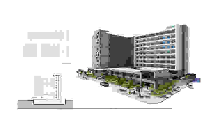 ApartaHotel de DiArquitectura Minimalista