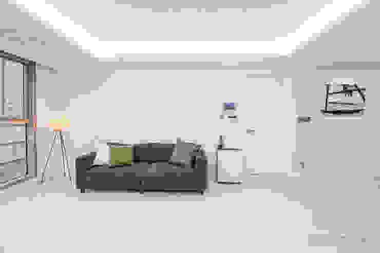 동탄인테리어 동탄메타폴리스 54평 아파트 by.n디자인 모던스타일 거실 by N디자인 인테리어 모던