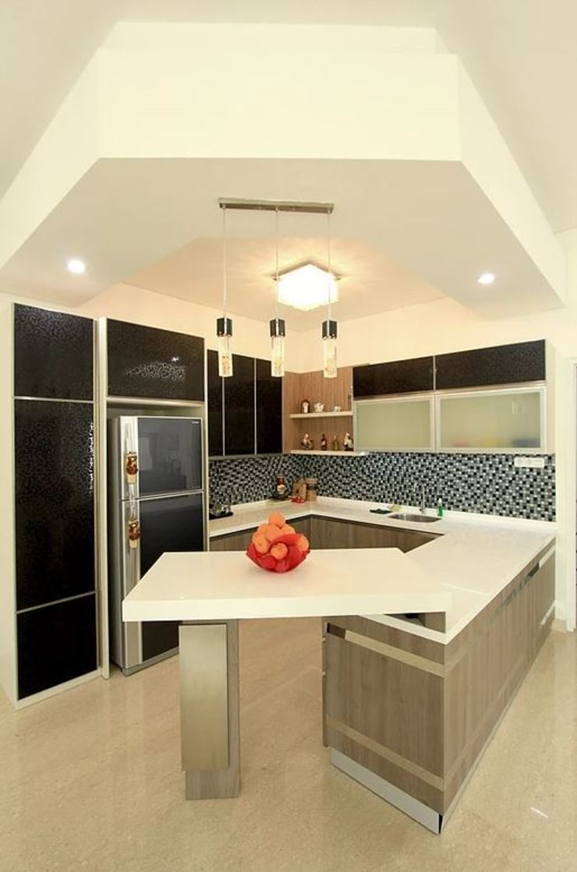 Apartment Royal Dapur Modern Oleh iwan 3Darc Modern