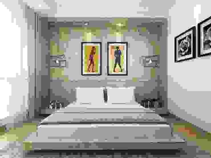 Apartment Senanyan Kamar Tidur Modern Oleh iwan 3Darc Modern
