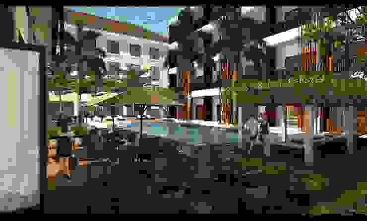 Grandika Bali Hotel Modern Oleh iwan 3Darc Modern