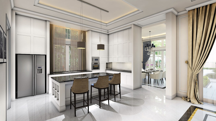 Modern kitchen by iwan 3Darc Modern