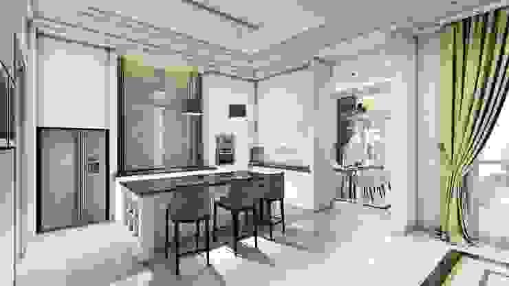 Cocinas de estilo moderno de iwan 3Darc Moderno