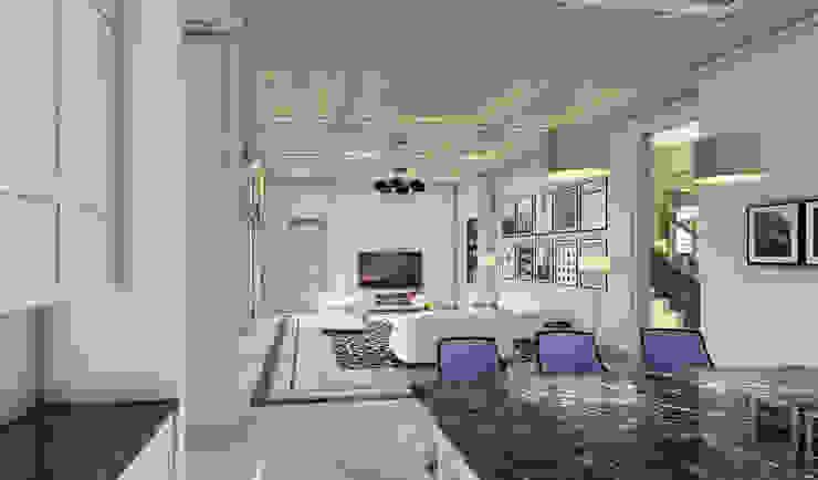 Cuartos de estilo moderno de iwan 3Darc Moderno