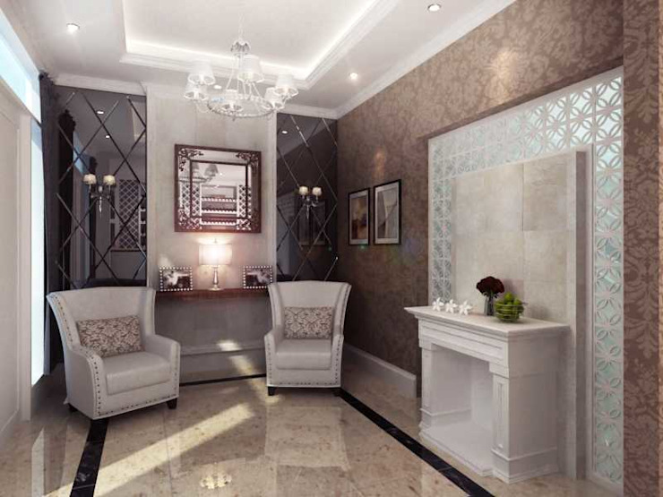 Rumah Tinggal PIK Ruang Keluarga Modern Oleh iwan 3Darc Modern