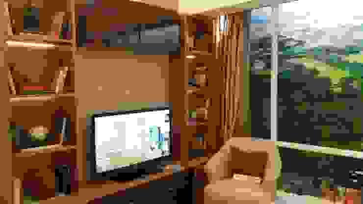 U Residential BSD Jakarta Ruang Keluarga Modern Oleh iwan 3Darc Modern