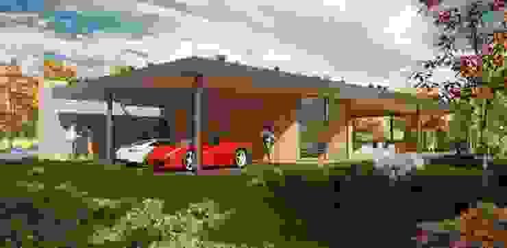Poolhouse Villa Maasmechelen van N Architecten