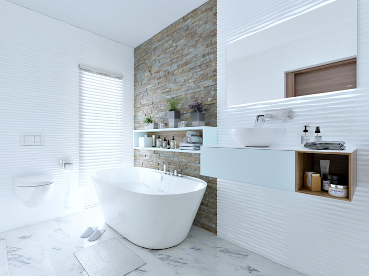En-suite bathroom 3 by Linken Designs