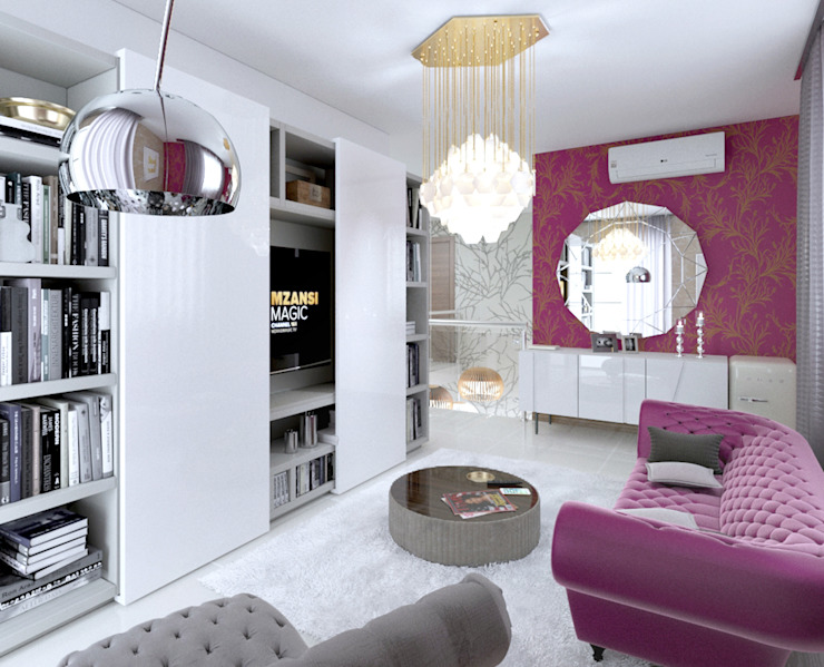 Personal lounge view 2 by Linken Designs