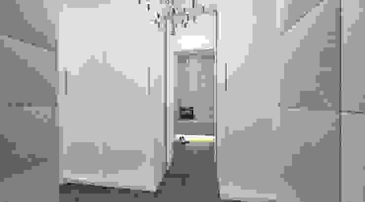 Walk in closet view 2 by Linken Designs