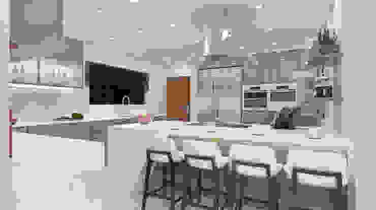 Espresso kitchen View 1 by Linken Designs