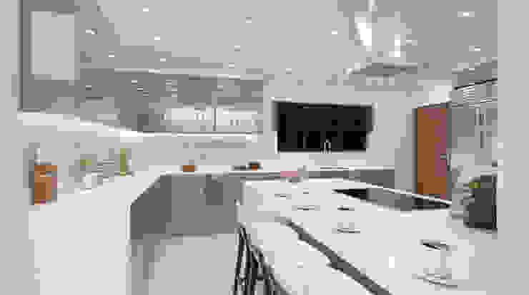 Espresso kitchen View 4 by Linken Designs