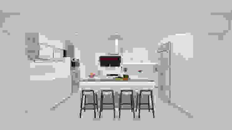Rivonia kitchen view 1 by Linken Designs