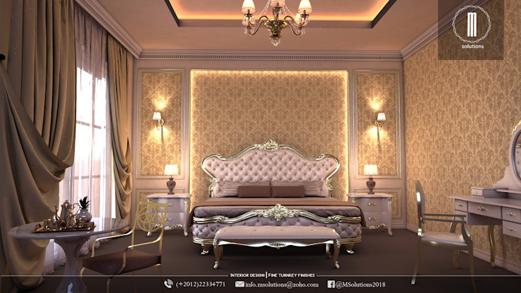 Classic bedroom design von MSolutions