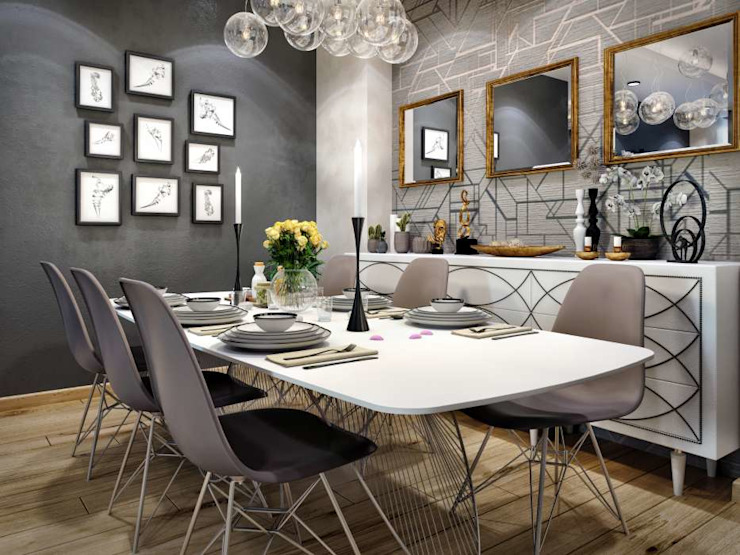 Avcılar Cadde Bostan Modern Yemek Odası ANTE MİMARLIK Modern