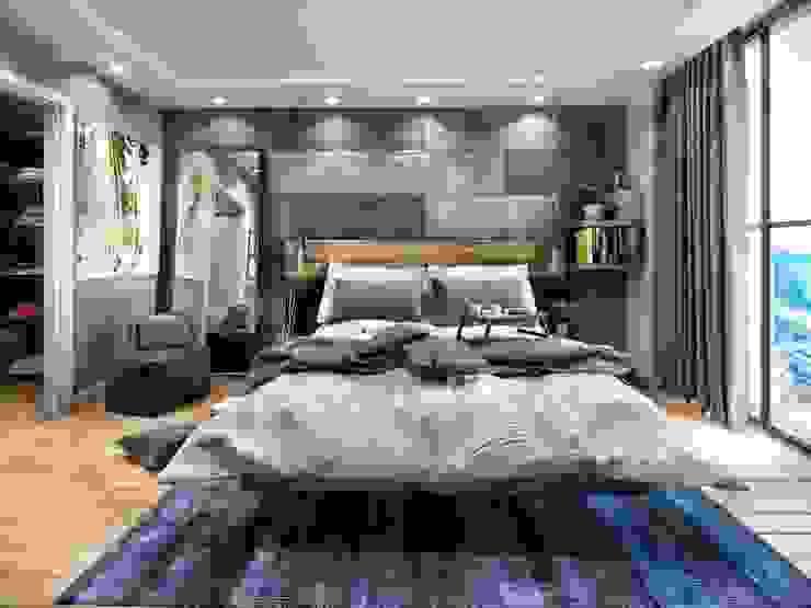 Спальня в стиле модерн от ANTE MİMARLIK Модерн