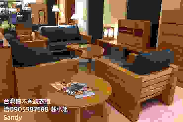 台灣檜木老料新作 可訂製: 斯堪的納維亞  by Sandy's Shop/台灣檜木系統精品家具, 北歐風