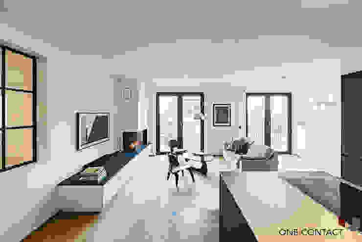 ONE!CONTACT - Planungsbüro GmbH Livings modernos: Ideas, imágenes y decoración