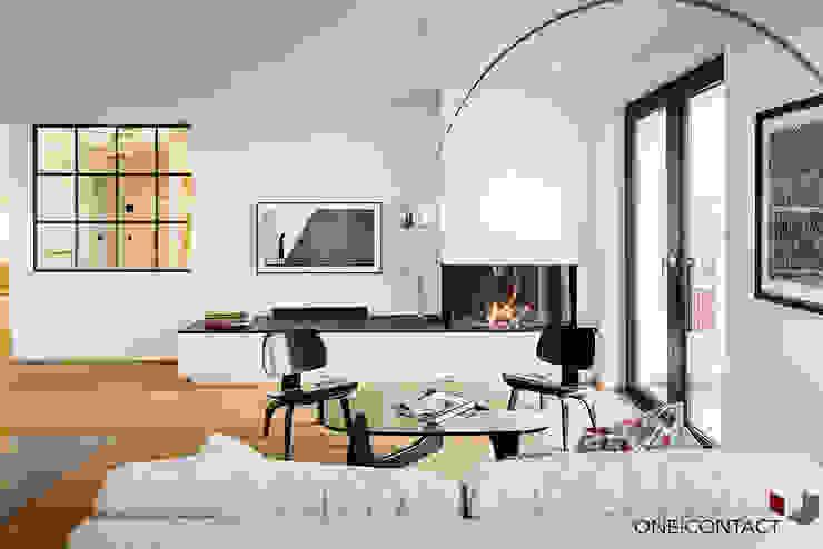 ONE!CONTACT - Planungsbüro GmbH 모던스타일 거실