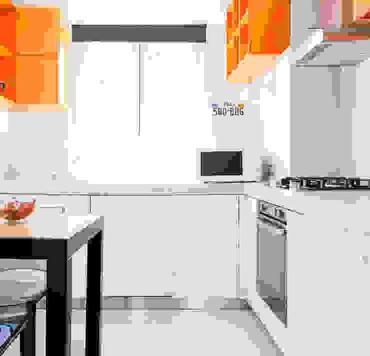 VITAE STUDIO - architettura Вбудовані кухні Білий