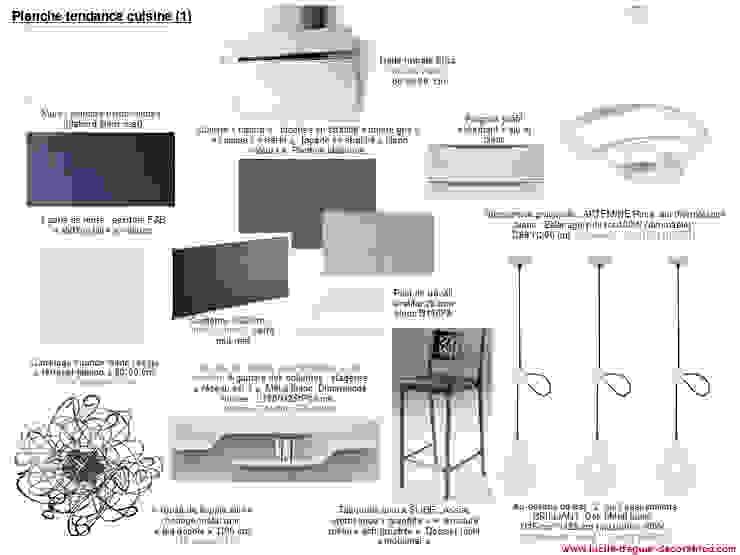 Planches tendances (projets divers) par Lucile Tréguer, décoratrice d'intérieur Moderne