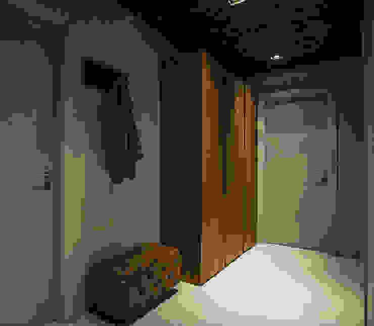 oeiras   iD project: Corredores e halls de entrada  por Santiago   Interior Design Studio ,