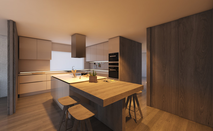 CASA MARQUES INTERIORES KitchenBench tops Wood
