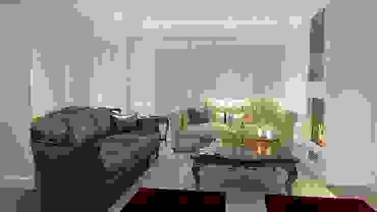 Mobilyada renk uyumu Klasik Oturma Odası ANTE MİMARLIK Klasik