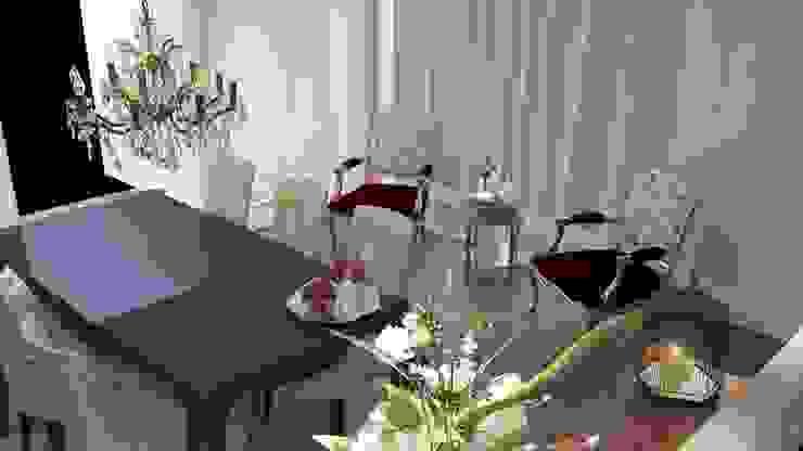 Berjer kullanımı Klasik Yemek Odası ANTE MİMARLIK Klasik