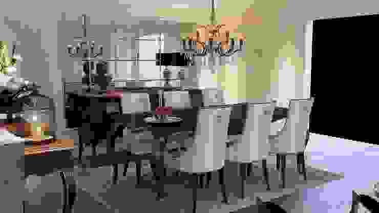 Yemek odası aydınlatma Klasik Yemek Odası ANTE MİMARLIK Klasik