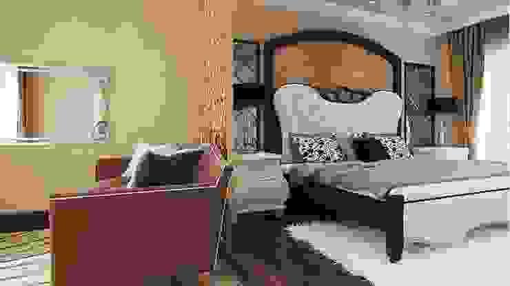 Yatak odası ANTE MİMARLIK Klasik Yatak Odası