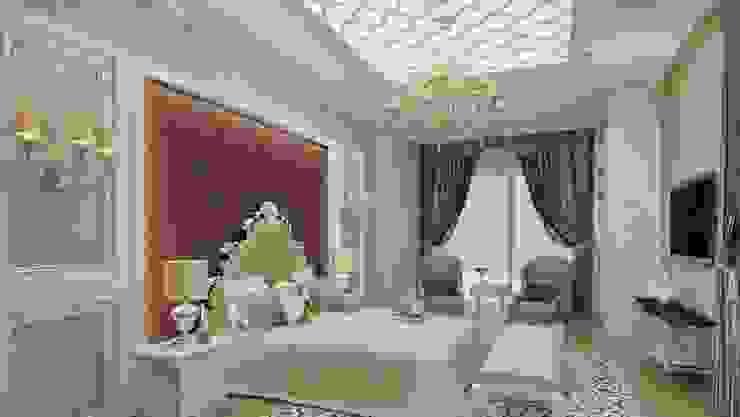 Yatak odası aydınlatma Klasik Yatak Odası ANTE MİMARLIK Klasik