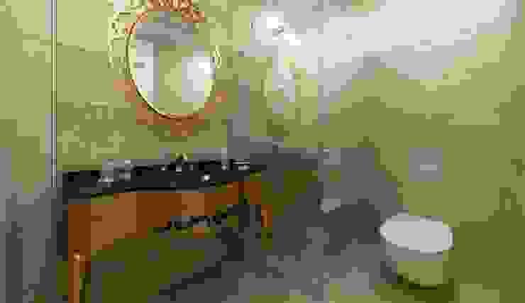 Banyo tasarım ANTE MİMARLIK Klasik Banyo Bej