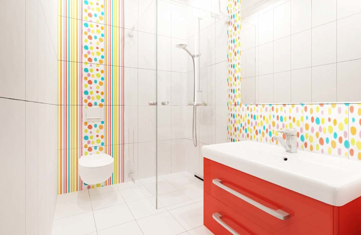 Modern bathroom by ANTE MİMARLIK Modern